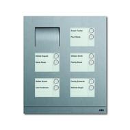 2CKA008300A0286 - Станция вызывная, аудио, десятиклавишная, цвет сталь