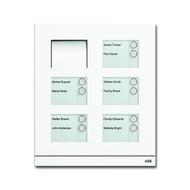 2CKA008300A0278 - Станция вызывная, аудио, десятиклавишная, цвет белый матовый