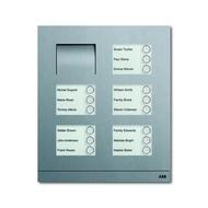 2CKA008300A0287 - Станция вызывная, аудио, пятнадцатиклавишная, цвет сталь