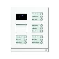 2CKA008300A0283 - Станция вызывная, видео двеннадцатиклавишная, цвет белый матовый