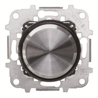 2CLA866020A1501 - Механизм электронного поворотного светорегулятора для LED, 2 - 100 Вт, серия SKY Moon, кольцо чёрное стекло