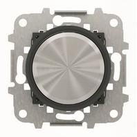 2CLA866090A1501 - Механизм электронного поворотного светорегулятора для люминесцентных ламп 700 Вт, 0/1-10 В, 50 мА, серия SKY Moon, кольцо чёрное стекло