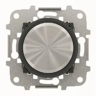 2CLA866000A1501 - Механизм электронного универсального поворотного светорегулятора 60 - 500 Вт, серия SKY Moon, кольцо чёрное стекло