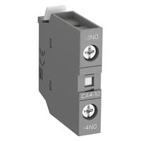 1SBN010110R1010 - Контакт CA4-10 (1НО) фронтальный для контакторов AF09…AF96 реле NF22E…NF40E