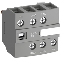 1SBN010151R1011 - Блок контактный дополнительный CAT4-11E с клеммами катушки управления для контакторов AF26…AF96..-30-00 и AF09…AF38..-22-00