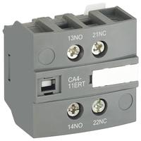 1SBN010155R1011 - Блок контактный дополнительный CA4-11ERT для контакторов AF..RT и NF..RT