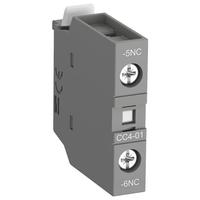 1SBN010111R1001 - Блок контактный дополнительный CC4-01 (1НЗ с запаздыванием) для контакторов AF09…AF96 реле NF22E…NF40E
