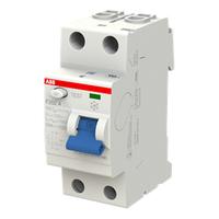 2CSF202101R0160 - Выключатель дифференциального тока 2 модуля F202 A-16/0,01