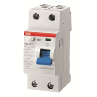 2CSF202001R0160 - Выключатель дифференциального тока 2 модуля F202 AC-16/0,01