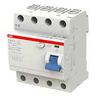 2CSF204101R1250 - Выключатель дифференциального тока 4 модуля F204 A-25/0,03