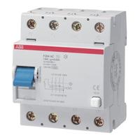 2CSF204001R1950 - Выключатель дифференциального тока 4 модуля F204 AC-125/0,03
