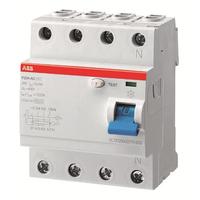 2CSF204001R1250 - Выключатель дифференциального тока 4 модуля F204 AC-25/0,03