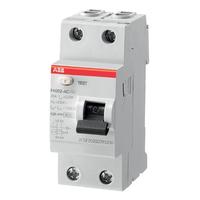 2CSF202004R1250 - Выключатель дифференциального тока 2 модуля FH202 AC-25/0,03