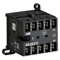 GJH1211003R0221 - Миниконтактор K6-22-Z -F 3A (400В AC3) катушка 24В АС