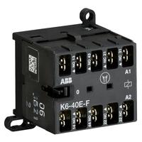 GJH1211003R0401 - Миниконтактор K6-40-E -F 3A (400В AC3) катушка 24В АС
