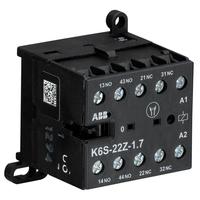 GJH1213001R7221 - Миниконтактор К6S-22-Z-1.7 3A (400В AC3) катушка 24В DC