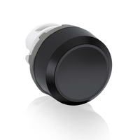 1SFA611100R1006 - Кнопка MP1-10B черная (только корпус) без подсветки без фиксации