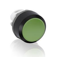 1SFA611100R1002 - Кнопка MP1-10G зеленая (только корпус) без подсветки без фиксации