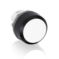 1SFA611100R1005 - Кнопка MP1-10W белая (только корпус) без подсветки без фиксации