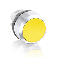 1SFA611100R2003 - Кнопка MP1-20Y желтая (только корпус) без подсветки без фиксации