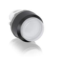 1SFA611102R1105 - Кнопка MP3-11W белая выступающая (только корпус) с подсветкой без фиксации