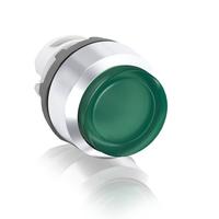 1SFA611102R2102 - Кнопка MP3-21G зеленая выступающая (только корпус) с подсветкой без фиксации