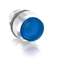 1SFA611102R2104 - Кнопка MP3-21L синяя выступающая (только корпус) с подсветкой без фиксации