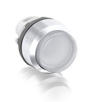 1SFA611102R2105 - Кнопка MP3-21W белая выступающая (только корпус) с подсветкой без фиксации