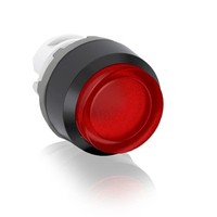 1SFA611103R2105 - Кнопка MP4-21W белая выступающая (только корпус) с подсветкой с фиксацией