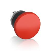 1SFA611124R1001 - Кнопка MPM1-10R ГРИБОК красная (только корпус) без фиксации 40мм