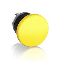 1SFA611124R1003 - Кнопка MPM1-10Y ГРИБОК желтая (только корпус) без фиксации 40мм