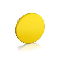 1SFA611125R1003 - Кнопка MPM2-10Y ГРИБОК желтая (только корпус) без фиксации 60мм