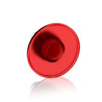 1SFA611125R1101 - Кнопка MPM2-11R ГРИБОК красная (только корпус) без фиксации с подсветкой 60мм