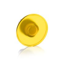 1SFA611125R1103 - Кнопка MPM2-11Y ГРИБОК желтая (только корпус) без фиксации с подсветкой 60мм