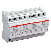2CTB815101R0800 - Ограничитель перенапряжения OVR T1 4L 25 255 TS