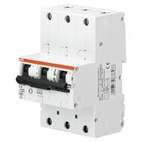 2CDH783010R0467 - Автоматический выключатель 3-полюсный cелективный S753DR-K16