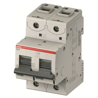 2CCS892001R0064 - Автический выключатель 2-полюсный S802N C6