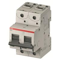 2CCS862001R0061 - Автический выключатель 2-полюсный S802S D6