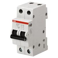 2CDS212001R0065 - Автоматический выключатель 2P SH202 B 6