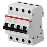 2CDS214001R0065 - Автоматический выключатель 4P SH204 B 6
