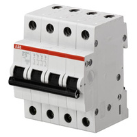 2CDS244001R0064 - Автоматический выключатель 4P SH204L C6