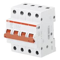2CDD274111R0016 - Рубильник 4-полюсный SHD204/16 (красный рычаг)