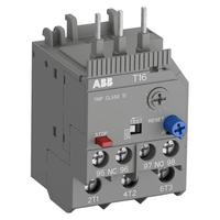 1SAZ711201R1005 - Реле перегрузки тепловое T16-0.13 диапазон уставки 0,1А…0,13А для контакторов типа B6, B7
