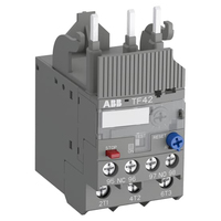 1SAZ721201R1005 - Реле перегрузки тепловое TF42-0.13 диапазон уставки 0,1…0,13А для контакторов AF09-AF38
