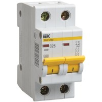 Автоматический выключатель ВА47-29М 2P 3A 4,5кА х-ка C IEK