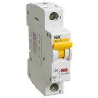 Автоматический выключатель ВА 47-60 1Р 6А 6 кА х-ка B IEK