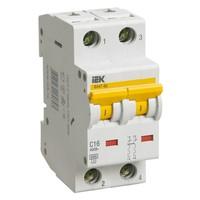 Автоматический выключатель ВА 47-60 2Р 1А 6 кА х-ка B IEK