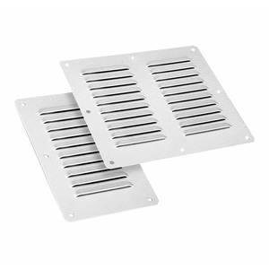 Панель жалюзийная вентиляционная из нержавеющей стали PV 22.20 S