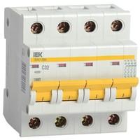 Автоматический выключатель ВА47-29М 4P 5A 4,5кА х-ка B IEK