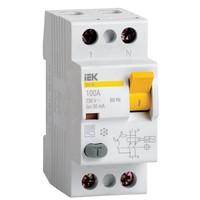 Выключатель дифференциальный (УЗО) ВД1-63 2Р 25А 10мА IEK